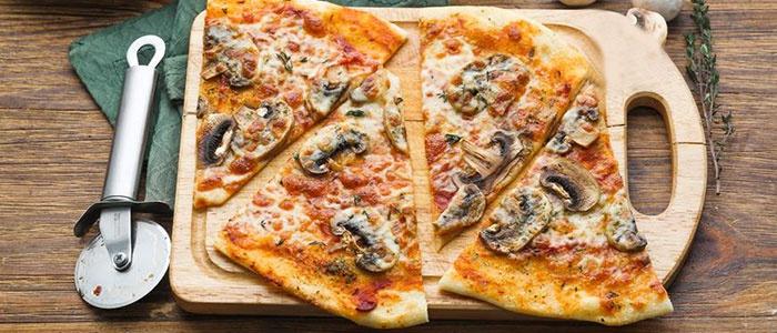 Пицца с сушенными грибами