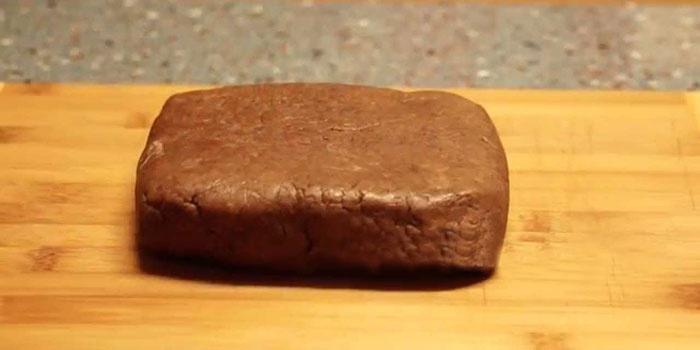 Тесто на основе с какао вместо муки