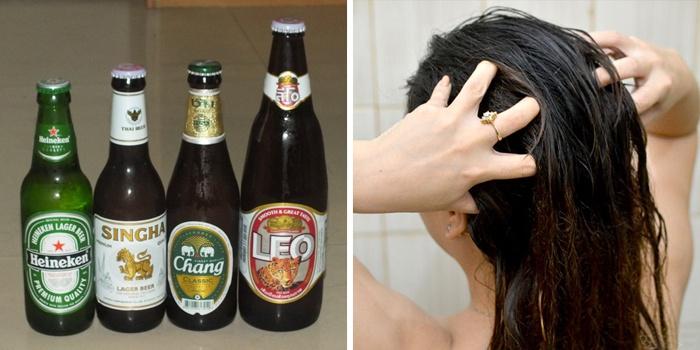 Пиво для волос при беременности