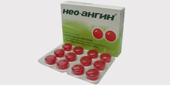 Нео-Ангин от боли в горле