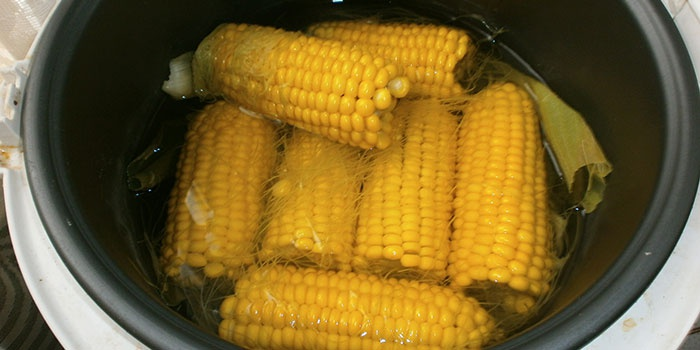 Кукуруза в скороварке