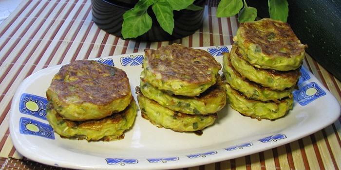 Оладьи из кабачков, приготовленные без яиц