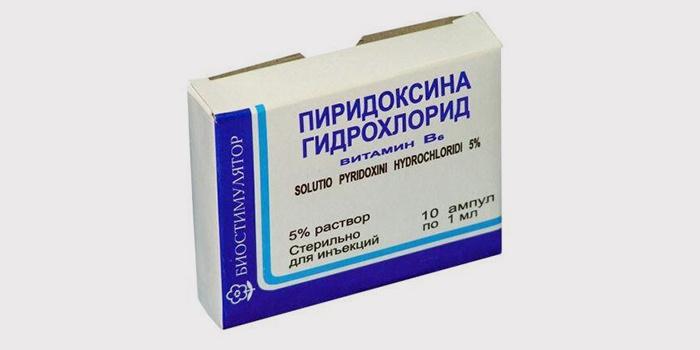 Пиридоксина гидрохлорид в ампулах