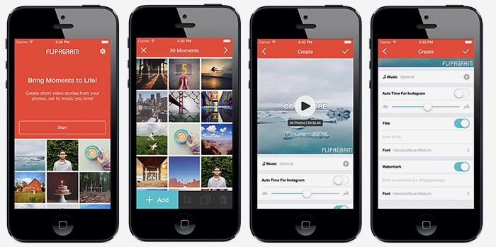 Flipagram для наложения музыки на видео в Инстаграме