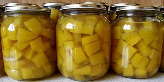 Тыквенный компот с лимоном