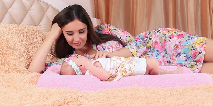 Кокон Momby для кормления ребенка