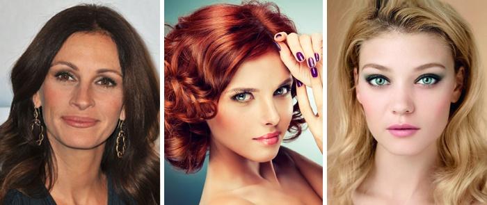 Подбираем румяна по цвету волос