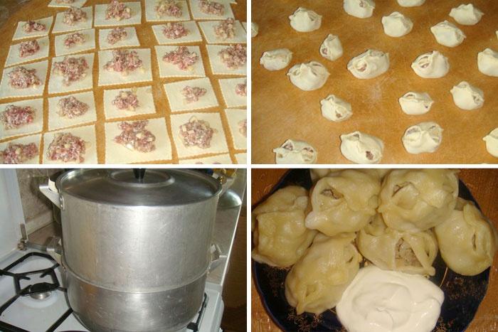 Манты рецепты приготовления с фото