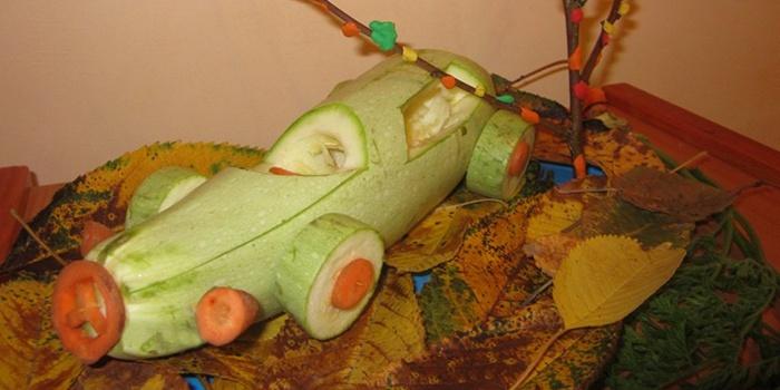 Овощная гоночная машина