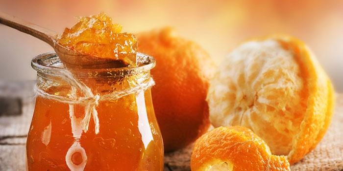 Конфитюр из яблок и апельсина
