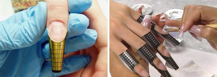 Как наращивать ногти акриловой пудрой