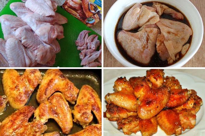 крылышки в медово соевом соусе на сковороде рецепт