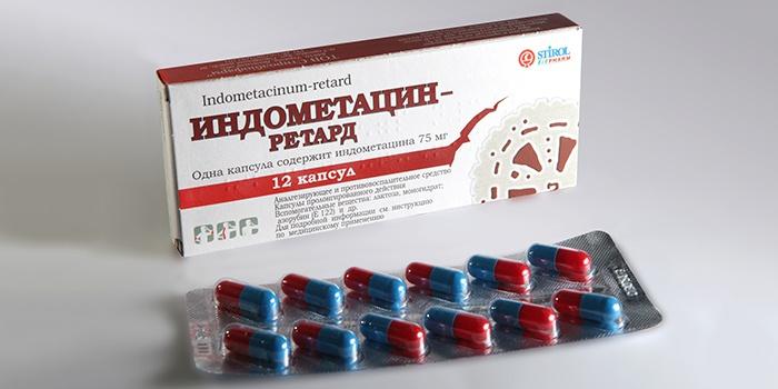 «Индометацин» для лечения межреберной невралгии