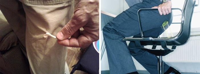 Как с одежды вывести жвачку: удаление размазанных пятен с тканей