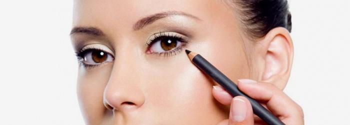 Определение контура глаз - рисуем стрелки