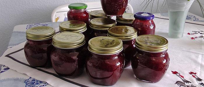 Варенье из груш и ягод
