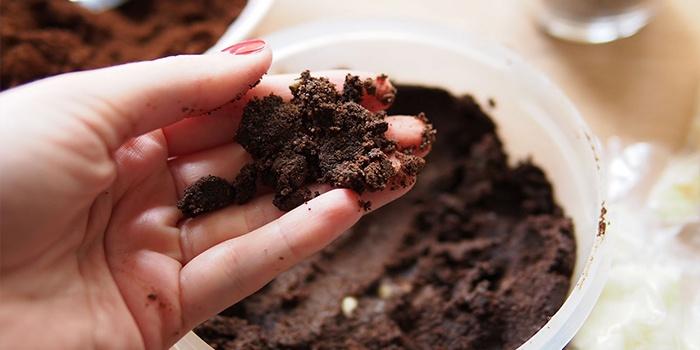 Скраб с какао от целлюлита