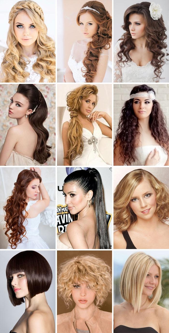 Причёски на средние распущенные волосы на каждый день своими руками фото 714