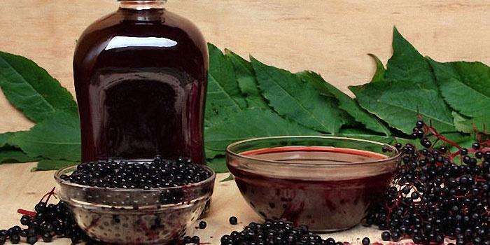 Настойка из черноплодной рябины и сливы