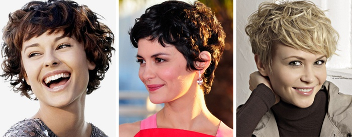 стрижки женские на короткие волнистые волосы фото