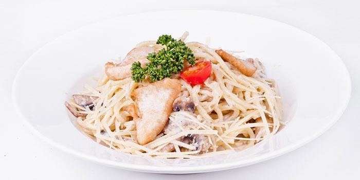 Рецепт пасты с белыми грибами