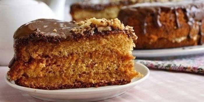 Бисквитно-медовый торт