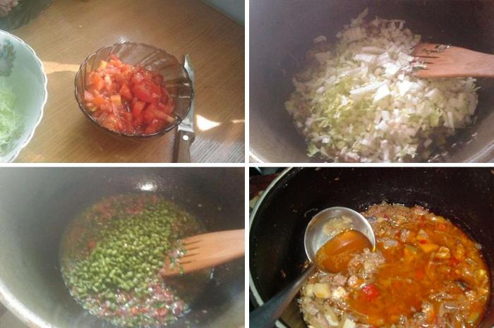 Пошаговое приготовление настоящего узбекского лагмана