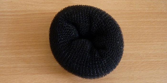 Классический бублик для волос