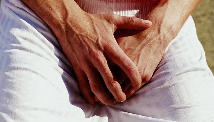 У мужчины воспаление лимфоузлов в паху