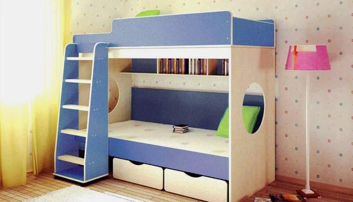 Двухэтажное спальное место