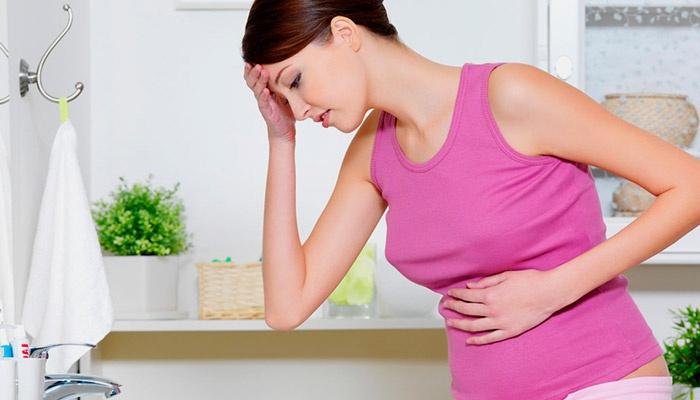 Тошнота у беременной женщины