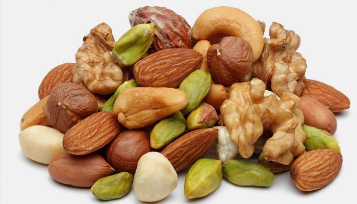 Орехи с витаминами группы B
