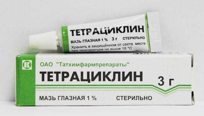 Мазь Тетрациклин
