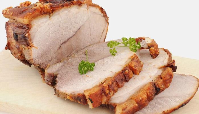 Запеченное мясо с петрушкой