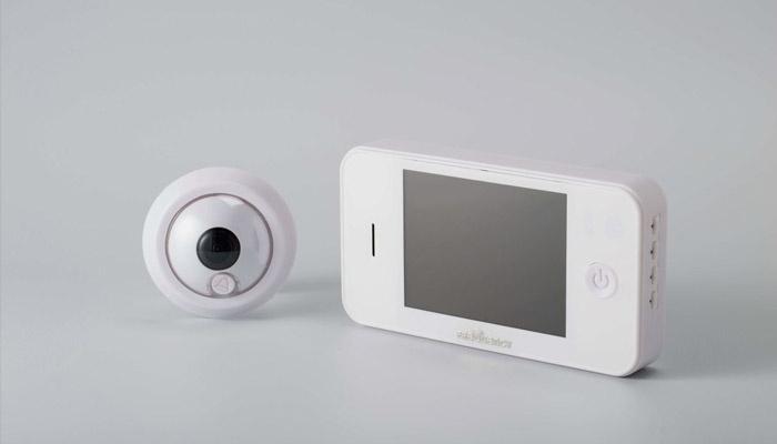 Видеоглазок и монитор
