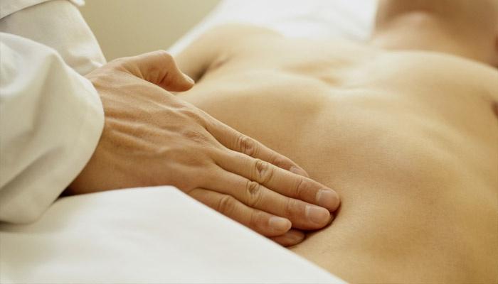 Пальпирование брюшной полости