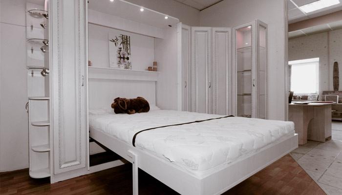 Шкаф-кровать трансформер в интерьере