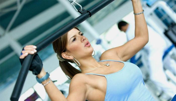 Тренажер на мышц рук и груди