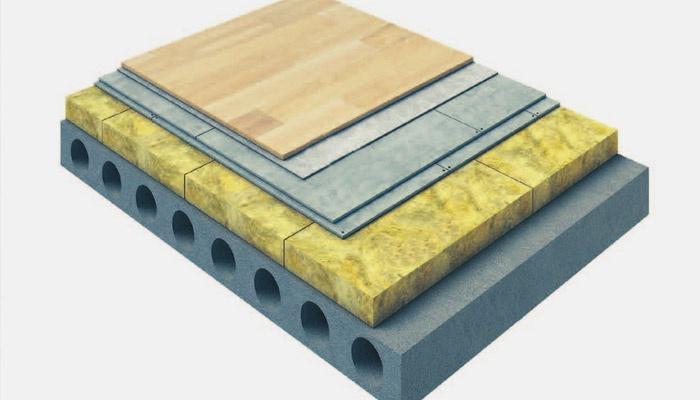 Звукоизоляционные материалы для стен и потолков