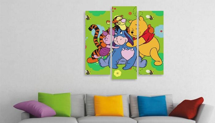 Картина в интерьере детской
