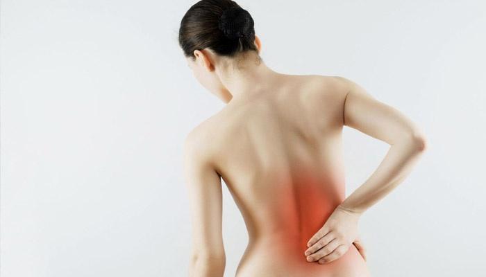 У женщины остеохондроз позвоночника