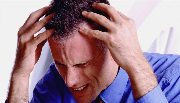 Геморрагический инсульт у мужчины