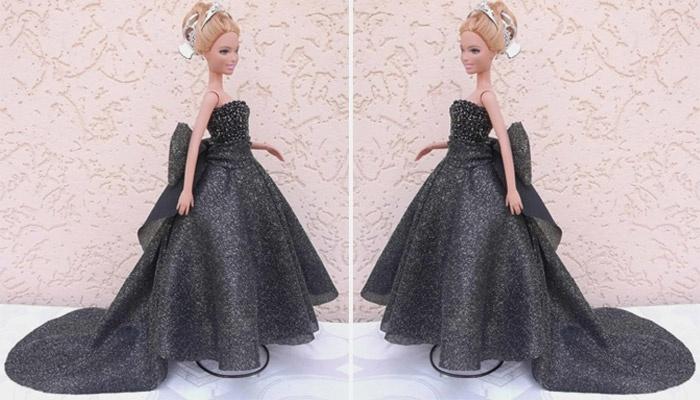 Как сделать платье для куклы для начинающих фото 491