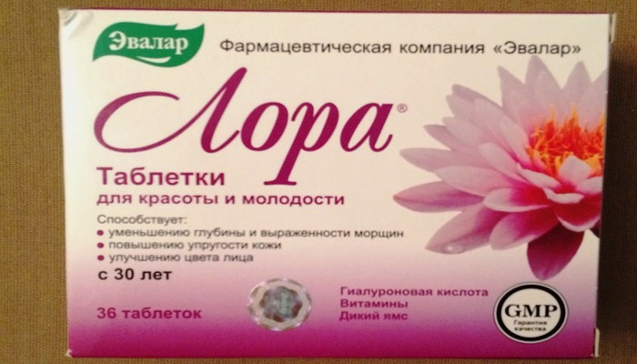 Витамины «Лора» от Эвалар