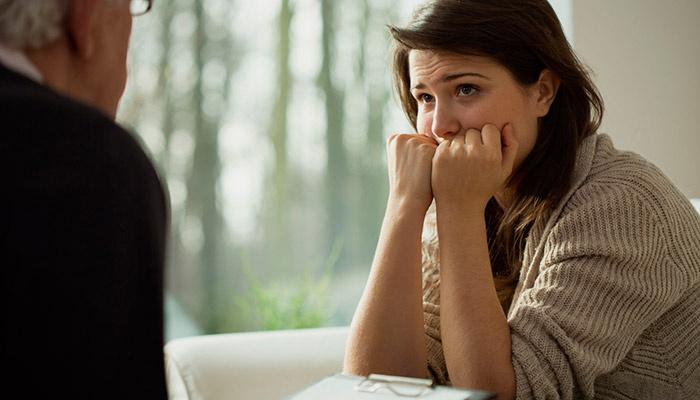 Диагностика невроза у девушки