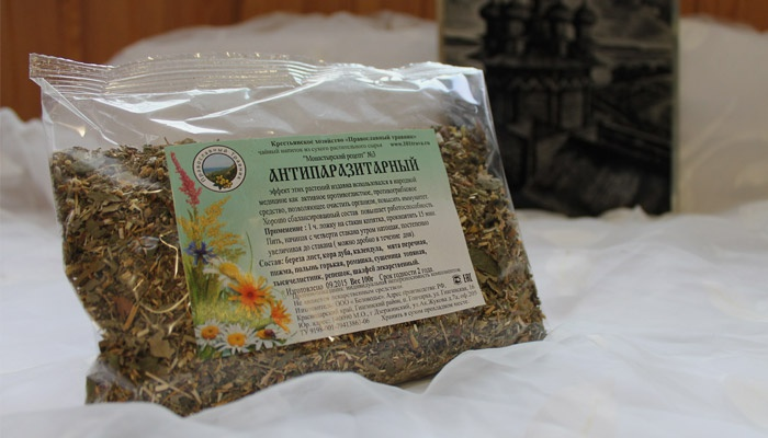 Аптечный антипаразитарный чай