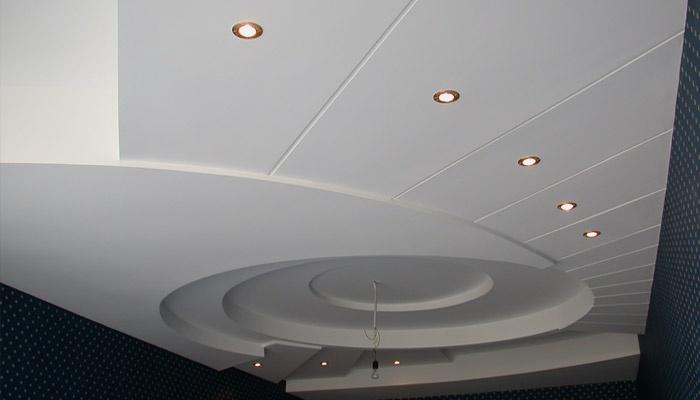 Дизайн пластикового потолка