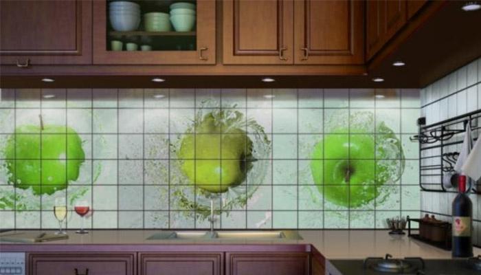 Дизайн с яблоками