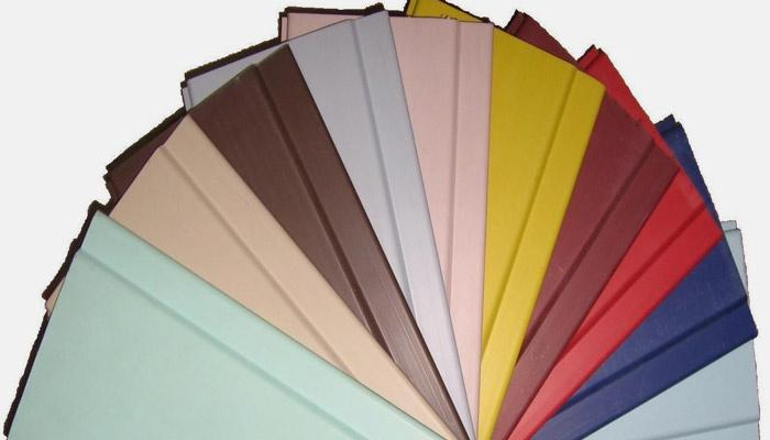 Цветовая палитра панелей