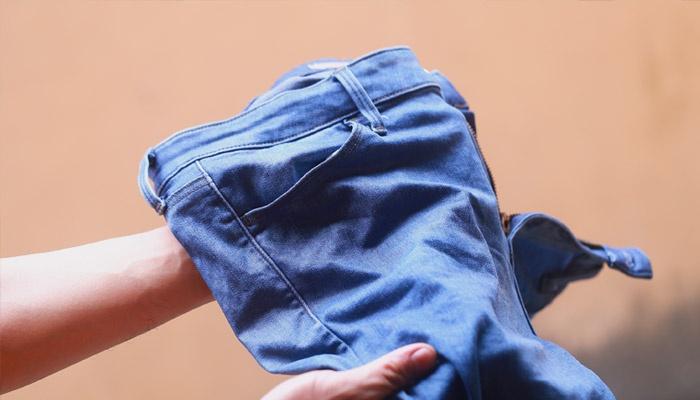 Мокрые брюки